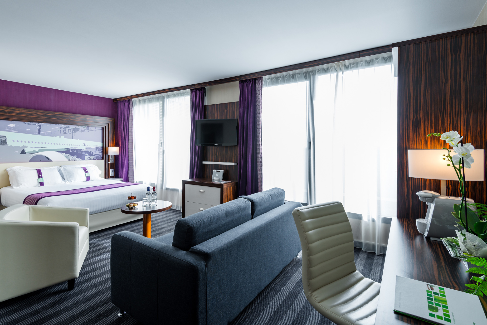 Chambre hôtel Toulouse Holiday inn Toulouse Airport